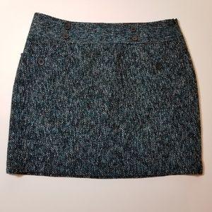 Loft textured skirt